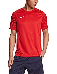 NIKE Herren Kurzarm Shirt Foundation 12, University Red/Black/White, XXL, 447430-657
