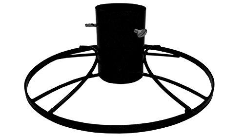 Bosmere G482 Moderne Christbaumständer 4 Zoll, schwarz glitzern