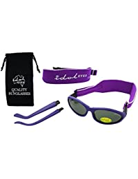 54056201d76 Baby Wrapz 2 Convertible Sunglasses 0-5 Years With 2 Headbands   Attachable  Arms (