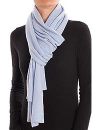 Amazon.fr   Turquoise - Echarpes et foulards   Accessoires   Vêtements 5c42bc9d226