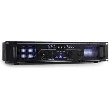 Skytec 178798–spl1500eq phase de puissance 2x 750W