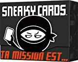Asmodee- Sneaky Cards, CGSC01, Jeu D'ambiance