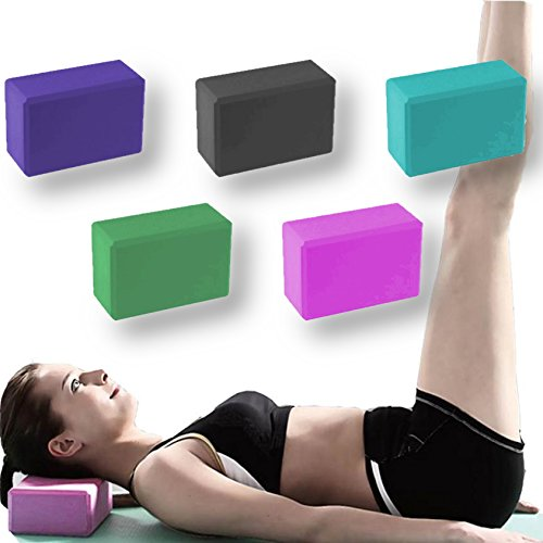 BodyRip blocs de yoga en mousse en paires vert Vert 22.8cm x 15.25cm x 10cm