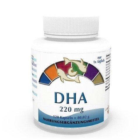 Vita World Omega-3 DHA 220mg 120 Capsule Acido Docosaesaenoico Made