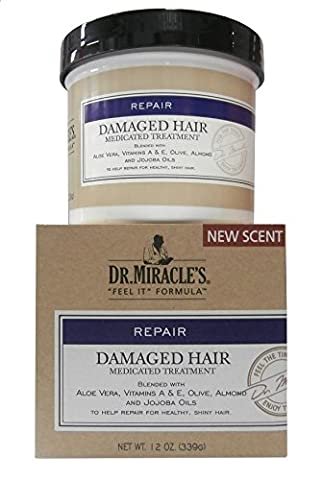 Dr. Miracles REPAIR Damaged Hair Medicated Treatment 339g