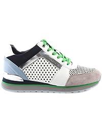 Glisser Sur Chaussures De Sport Pour Les Femmes À La Vente, Le Ciment, Le Cuir, 2017, 38 Michael Kors