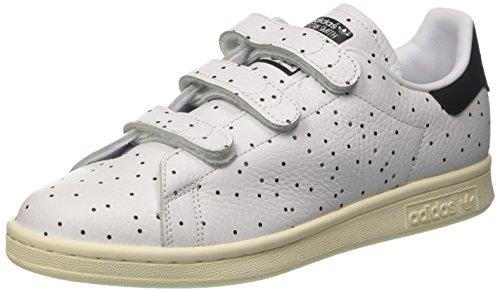 adidas Stan Smith Cf, Sneaker a Collo Basso Donna Nero (Core Black/Core Black/Ftwr White)