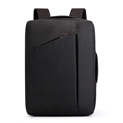 GAOXP Laptop-Rucksack, 15,6-Zoll-Aktentasche Umhängetasche, wasserdichte und verschleißfeste Oxford-Laptoptasche, Business-Tasche für Laptop-Tablet,Black