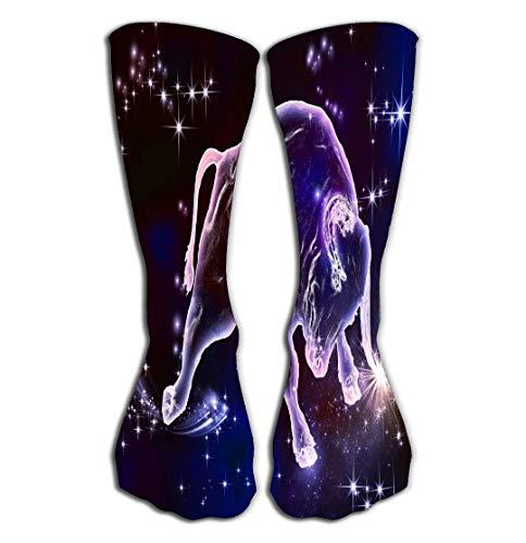 Xunulyn Hohe Socken Women's Girls Men's Novelty Socks Funny Boot Sock 19.7