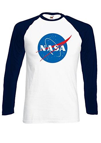 nasa-space-rocket-moon-space-astronaut-novelty-navy-white-men-women-unisex-long-sleeve-baseball-t-sh