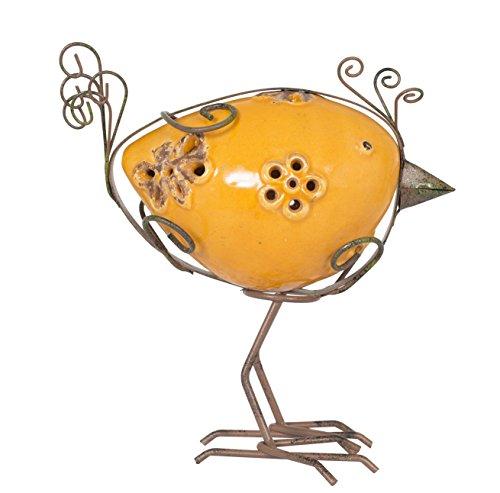 La Hacienda ELSA: Avery Rainbow Bird, Orange, 9x 18x 17cm