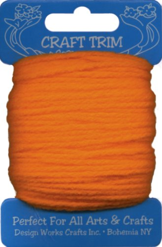 Design Works Crafts Garn Karte, orange -