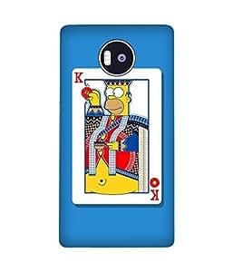 Simpson King Microsoft Lumia 950 XL Case