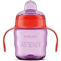 Philips Avent - Vaso con boquilla de silicona para niña