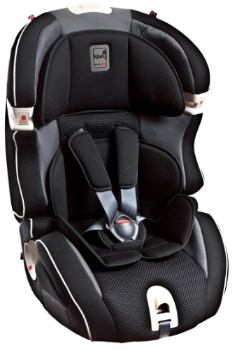 Kiwy 14103KW02B Child Car Seat Group 1/2/3with Isofix 9-36kg Carbon