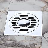 SUNNY KEY-Bodenablauf@Abfluss / Chrom / Andere /10cm x 10cm x 4.3 cm (4 ''x 4 ''x 1.7 '') /Messing /Modern /10 cm (4