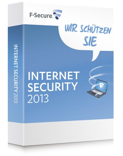 F-Secure Internet Security 2013, 1 Jahr, 5 User