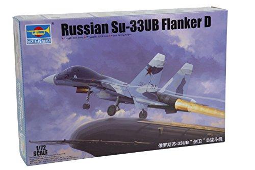 trumpeter plastic model kit 1 72 001669 su 33ub flanker d