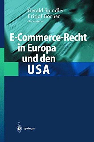 E-Commerce-Recht in Europa und den USA