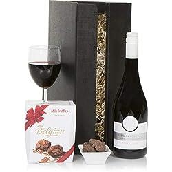 Napa Valley Wein & Schokolade - Kalifornische Weinkörbe und Geschenkkörbe mit Alkohol