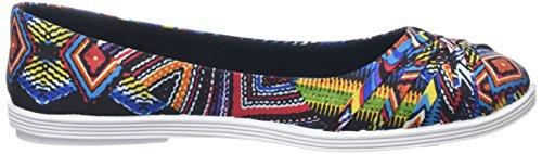 Blowfish Gummie Damen Ballerinas Multicolor (Black Nairobi Print)
