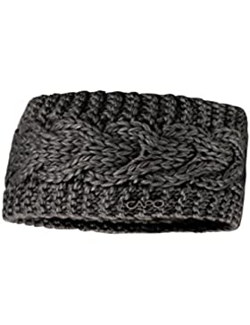 CAPO Unisex Stirnband 151-609 Schwarz (Black 20), One Size