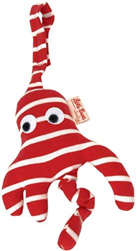 Käthe Kruse 74764 - Kindersitzanhänger Octopussi, rot/weiß