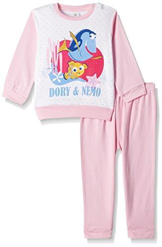 Finding Nemo Girls' Pyjama Set (WD 10-100_Baby Pink _12 - 18 months)