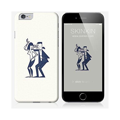 Sticker iPhone 6 et 6S de chez Skinkin - Design original : Shut up and dance par Ale Giorgini Coque iPhone 6 et 6S