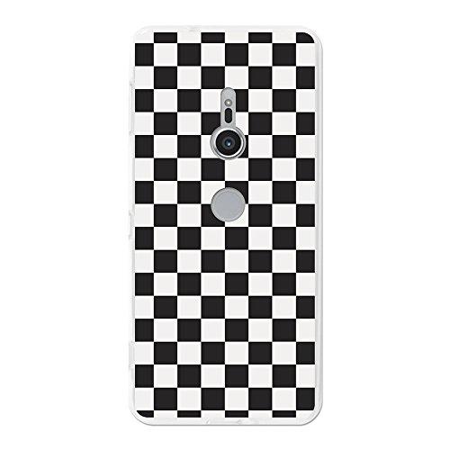 Funda gel para Sony Xperia XZ2, Carcasa TPU Flexible fabricada con la mejor Silicona, protege y se adapta a la perfección a tu Smartphone y con nuestro exclusivo diseño 3B® - Tablero de ajedrez.