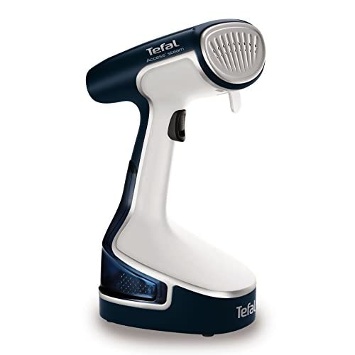 41oDKdyTeWL. SS500  - Tefal DR8085 Access Steam Handheld Garment Steamer, Travel/Portable, 1500 Watt, White/Blue