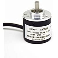 600P/R Photoelectric Rotary Encoder AB Phase 5-24V Coupling NPN output (600)