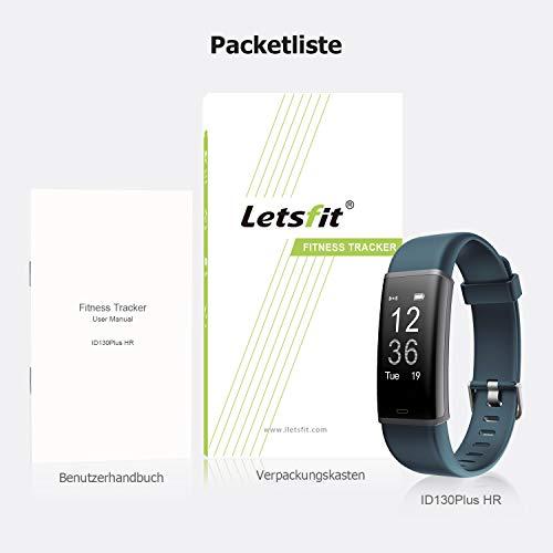 Letsfit ID130PlusHR Fitness Tracker - 9