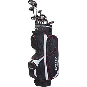 Bullet Golf Herren Golfset Rd48 Mrhg, Black/White/Red, One Size