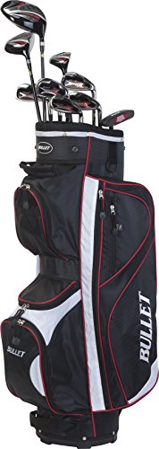 Bullet Golf Herren Golfset Rd48 Mrhg, Black/White/Red, One Size