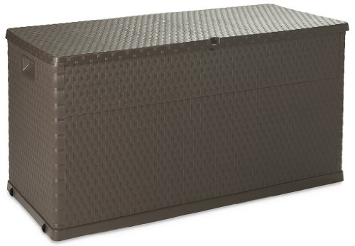 Toomax art162col baule multibox, rattan line, 120x57x63, marrone