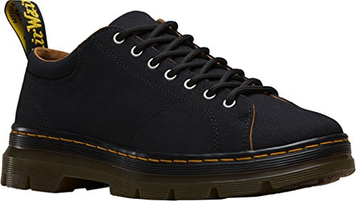 Dr.Martens Mens Royce 7 Eye Canvas Shoes Black