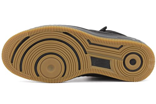 NIKE Sneaker Damen AF1 Ultra Force Mid 654851 003 Schwarz