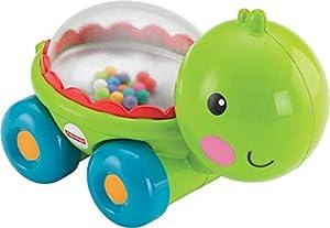 Fisher Price - Tortuguita bolitas saltarinas (Mattel BGX29), surtido: modelos/colores aleatorios