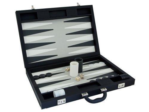 Dal Neger Luxus Schwarz Backgammon Set