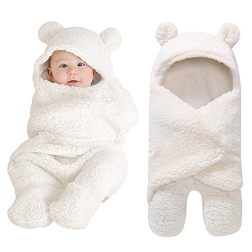 Neugeborene Infant Baby Junge Mädchen Warm Soft Faux Kaschmir Swaddle Baby Schlafwickel Decke Fotografie Prop Geschenke für neugeborene