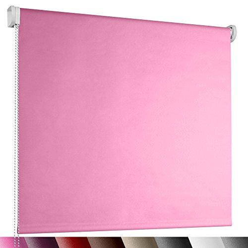 Jago - Estor enrollable de color rosa y tamaño 80 x 230 cm