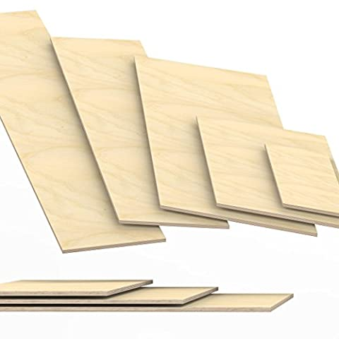 9mm Plywood Sheets cut to size up to 200 cm length multiplex board cuttings: 150x100 cm