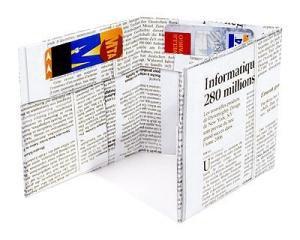 Tyvek Brieftasche (Zeitung) (Dynomighty Design)