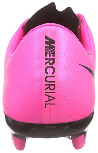 Nike Herren Mercurial Veloce Ii Lthr Fg Fußballschuhe Pink (Black/Black-Hyper Pink-Hyper Pink 006)