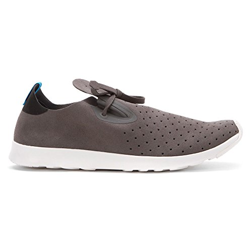 Native Apollo Moc Jiffy Noir Shell Blanc Nat Rubber Dublin Grey