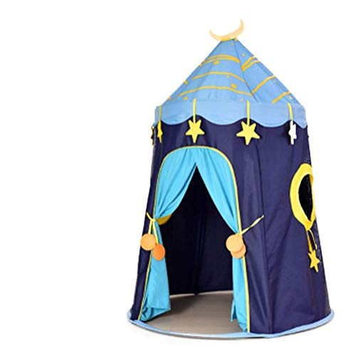 HLMAX Kinderspielzelt,Kinderzelt Jurte Spielhaus Eltern-Kind-Spielzeug Marine Ball Prinzessin Zimmer Outdoor Indoor allgemein Höhe 150cm