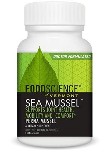 ont Meer Muschel, green-lipped Muschel Gelenk Nahrungsergänzungsmittel Tabletten, 180Fadenzahl (Food Science Of Vermont)