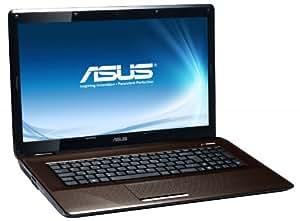 "Asus K72F-TY284V Ordinateur portable 17,3"" (43,9 cm) Intel Pentium P6200 320 Go 4096 Mo Windows 7 Marron Foncé"