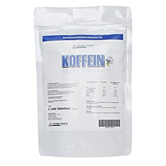 Pharmasports Koffein Tabletten
